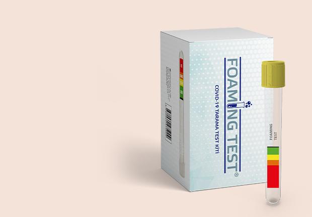 Foaming Test - Covid-19 Tarama Test Kiti